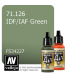 Vallejo Model Air: IDF/IAF Green (17ml)