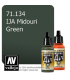 Vallejo Model Air: IJA Midouri Green (17ml)