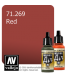 Vallejo Model Air: Red (17ml)