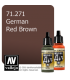 Vallejo Model Air: German Red Brown (17ml)