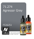 Vallejo Model Air: Agressor Grey (17ml)