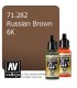 Vallejo Model Air: 6K Russian Brown (17ml)