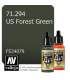 Vallejo Model Air: US Forest Green (17ml)