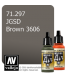 Vallejo Model Air: JGSD Brown 3606 (17ml)