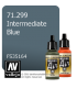 Vallejo Model Air: Intermediate Blue (17ml)