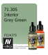Vallejo Model Air: Interior Grey Green (17ml)