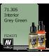 Vallejo Model Air: Interior Grey Green (17ml)