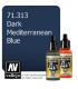 Vallejo Model Air: Dark Mediterranean Blue (17ml)