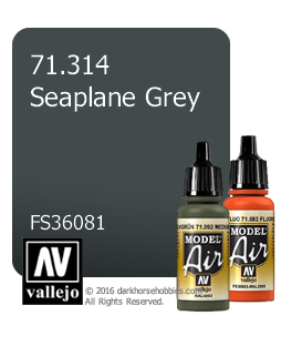 Vallejo Model Air: Seaplane Grey (17ml)