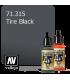 Vallejo Model Air: Tire Black (17ml)