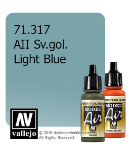 Vallejo Model Air: AII SV. Gol Light Blue (17ml)