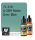 Vallejo Model Air: A-28M Matte Grey Blue (17ml)