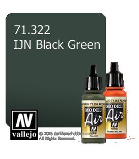 Vallejo Model Air: IJN Black Green (17ml)