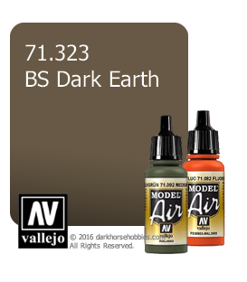 Vallejo Model Air: BS Dark Earth (17ml)