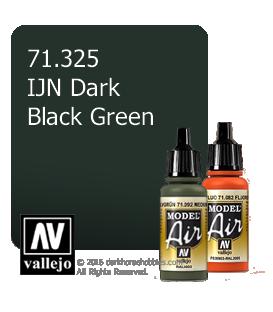 Vallejo Model Air: IJN Dark Black Green (17ml)