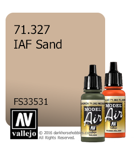 Vallejo Model Air: IAF Sand (17ml)