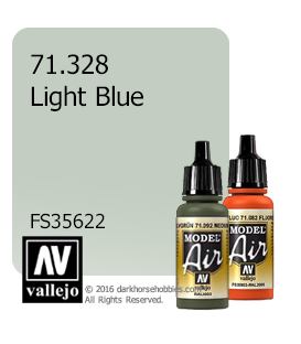 Vallejo Model Air: Light Blue (17ml)