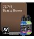 Vallejo Game Air: Beasty Brown (17ml)