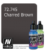 Vallejo Game Air: Charred Brown (17ml)
