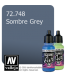 Vallejo Game Air: Sombre Grey (17ml)