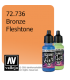Vallejo Game Air: Bronze Fleshtone (17ml)