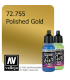 Vallejo Game Air: Polished Gold (17ml)