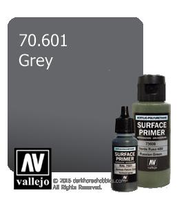 Vallejo Surface Primer: Grey (17ml)