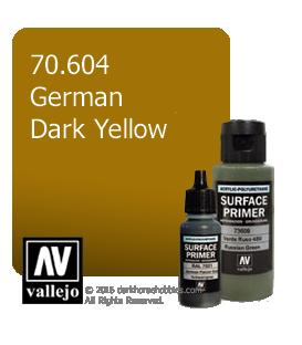 Vallejo Surface Primer: German Dark Yellow (17ml)