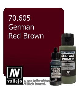 Vallejo Surface Primer: German Red Brown (17ml)
