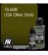 Vallejo Surface Primer: U.S. Olive Drab (17ml)