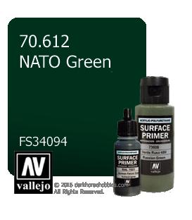 Vallejo Surface Primer: NATO Green (17ml)
