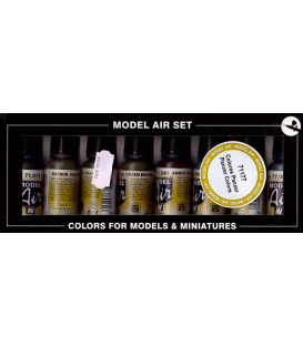 Vallejo Model Air: Panzer Colors Set (8)