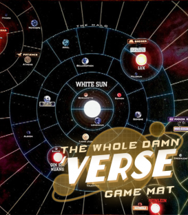 "Firefly: The Game - ""Whole Damn Verse"" Vinyl Game Mat"