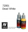 Vallejo Game Color: Acrylic Paint - Dead White (17ml)