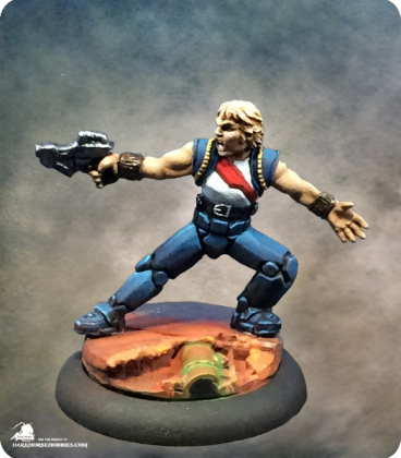 Chronoscope: Rand Daingerfield, Space Smuggler (painted by Katie Sommer)