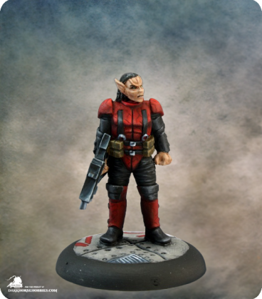 Chronoscope: Rach Soldier (painted by Martin Jones)