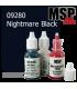 Master Series Paint: Core Colors - 09280 Nightmare Black (1/2 oz)