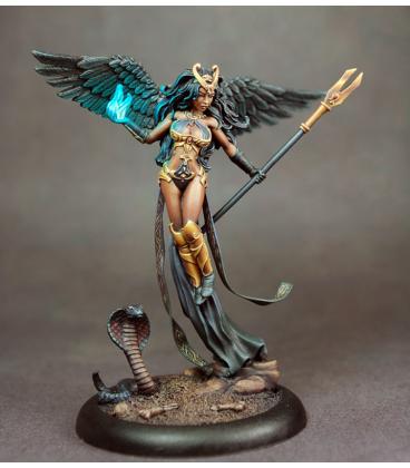Dark Sword: Thief of Hearts 5 - Female Mage with Staff (customization by Marike Reimer)