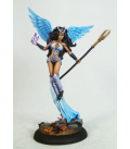 Dark Sword: Thief of Hearts 5 - Female Mage with Staff (painted by Jessica Rich)