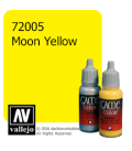 Vallejo Game Color: Acrylic Paint - Moon Yellow (17ml)