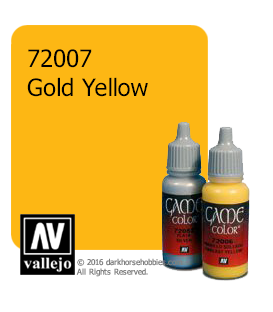 Vallejo Game Color: Acrylic Paint - Gold Yellow (17ml)