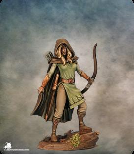 Easley Masterworks: Female Ranger (painted by Matt Verzani)