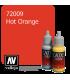 Vallejo Game Color: Acrylic Paint - Hot Orange (17ml)