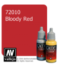 Vallejo Game Color: Acrylic Paint - Bloody Red (17ml)