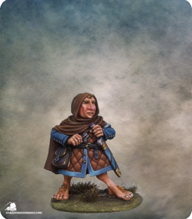 DiTerlizzi Masterworks: Fribbo Lightfinger - Halfling Rogue (painted by Jessica Rich)