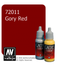 Vallejo Game Color: Acrylic Paint - Gory Red (17ml)