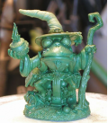 Critter Kingdoms: Frog Wizard (master sculpt by Dave Summers)