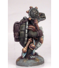 Critter Kingdoms: Tortoise Cleric (painted by Marike Reimer)