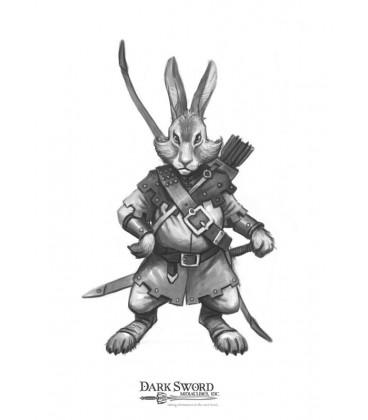 Critter Kingdoms: Rabbit Warrior (artwork)