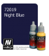Vallejo Game Color: Acrylic Paint - Night Blue (17ml)